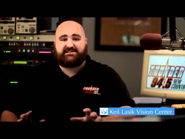 Flounder, Thunder 94.5 radio DJ -  Keil Lasik Patient Testimonial | Keil Lasik