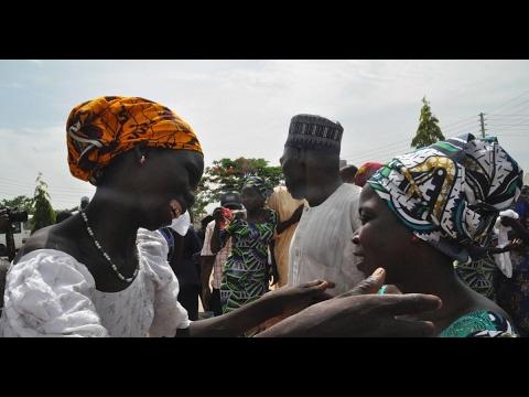 Nigerian schoolgirls released by Boko Haram reunite with families