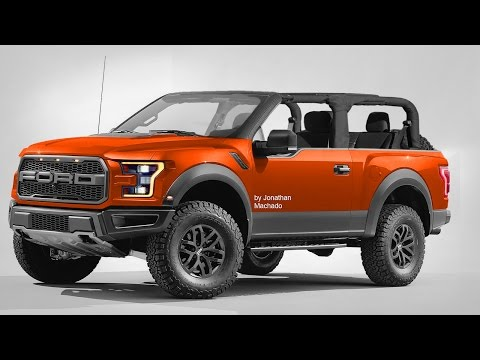 RENDER New  Ford Bronco Air Roof @ F- Removable Roof