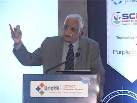 Dr. K. Kesavasamy, Head, Academic Interface Programme, Tata Consultancy Services