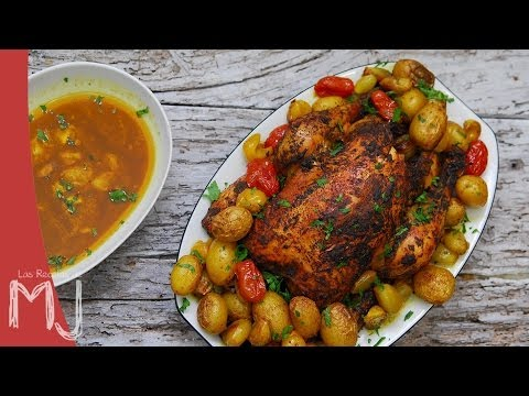 POLLO AL HORNO ESTILO JAMIE OLIVER | Empire Roast Chicken
