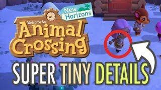 Animal Crossing New Horizons SUPER TINY DETAILS