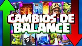 NERF AL MONTAPUERCOS Y AL RECOLECTOR | Cambio de Balance | Clash Royale