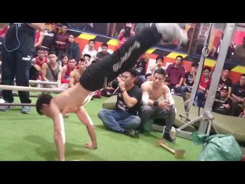 Street workout đỉnh cao - Hanoi Street workout Open Cup #vnswcf #battle2016 bán kết 2 Huy vs Tuấn