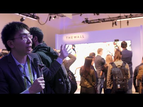 Samsung Launch MASSIVE 146-inch Micro LED TV Called 'The Wall'