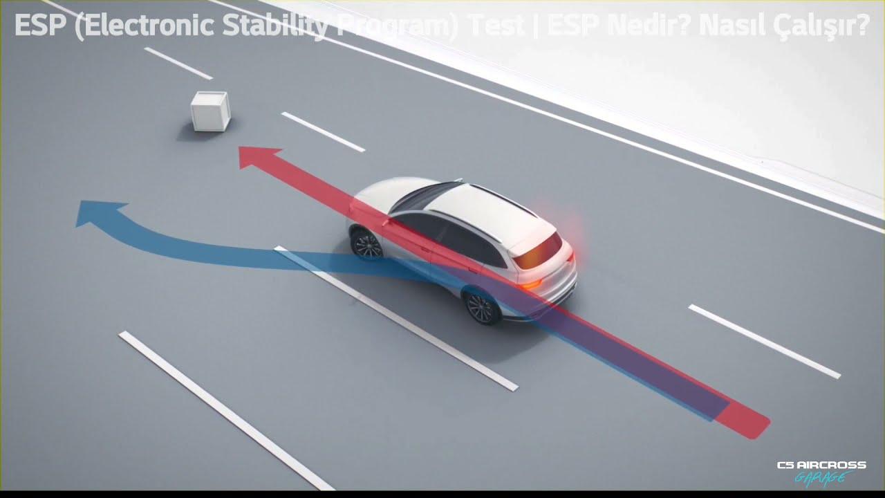ESP (Electronic Stability Program) Testi | ESP Nedir? Nasıl Çalışır? | C5 Aircross ESP Testi