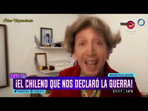 ¡El chileno que nos declaró la guerra!