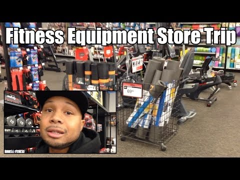 "Fitness Equipment Store Trip ""Christmas Sale Shopping"" (Sports Authority)"