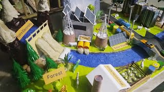 Stop Pollution Model | Prevent Pollution | Green City