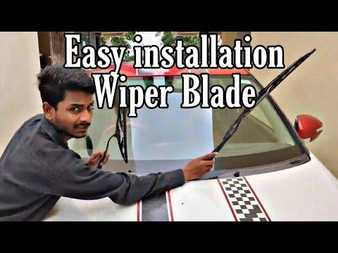 How to change Wiper Blade of Maruti Suzuki Swift / Alto / 800
