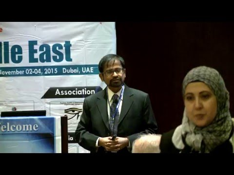 V Ravi Chandran   USA   Pharma Middle East 2015  Conference Series LLC