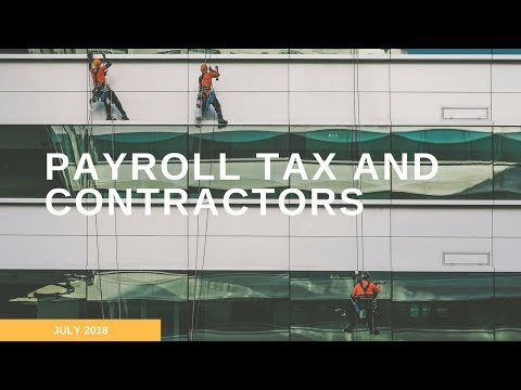 Payroll Tax And Contractors