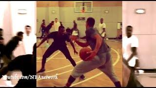 Tim Hardaway Jr. and CJ McCollum - Shooting Guard Battle! [via @cbrickley603]