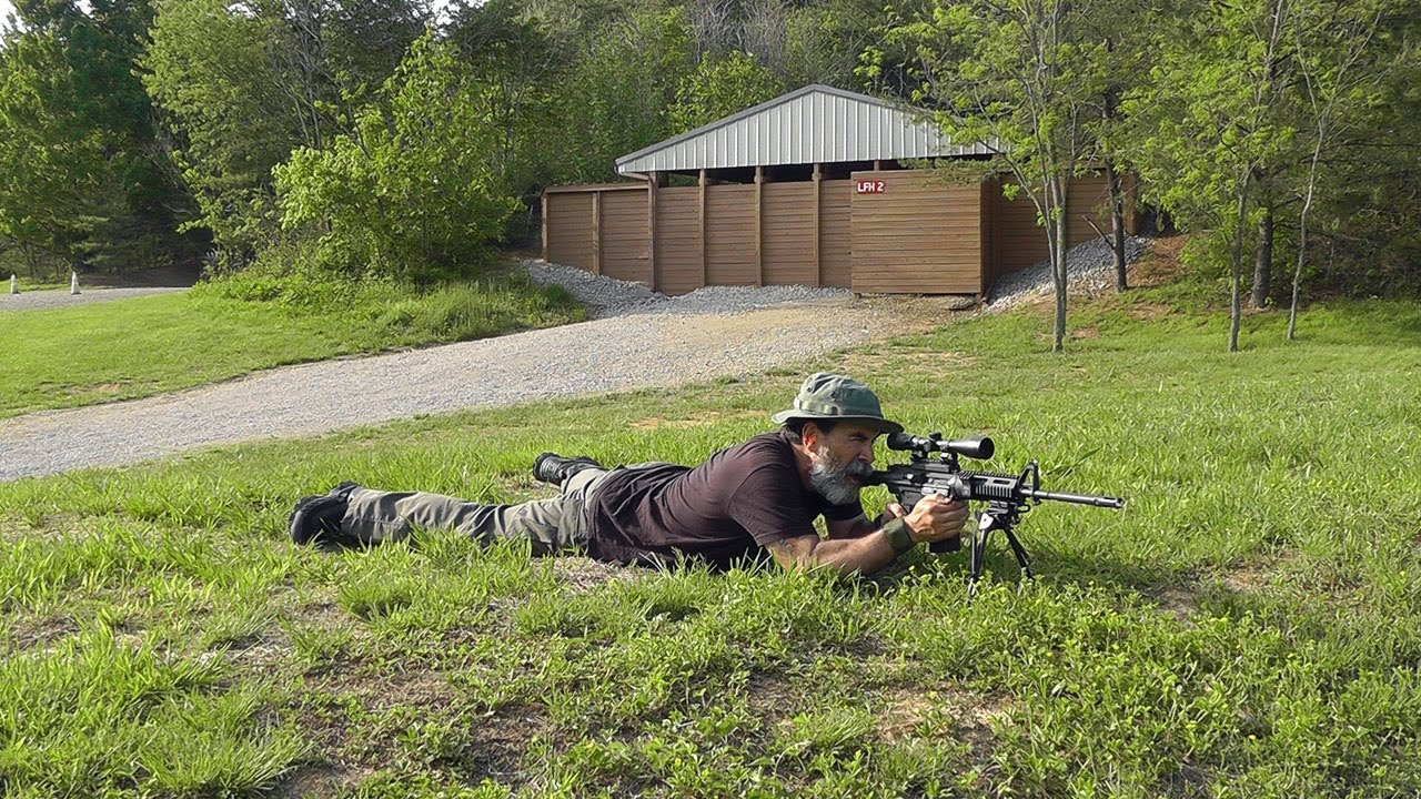 Challenge Targets IPSC A-C Zone Rifle Target - Static Stand