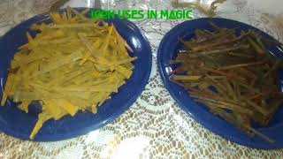 Iron Nails use in Magic & Witchcraft  / Cross Coffin Nails Hoodoo