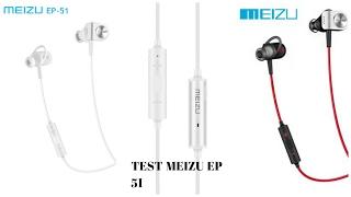 Test écouteurs bluetooth meizu