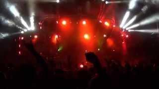 Soilwork live at Hellfest 2014