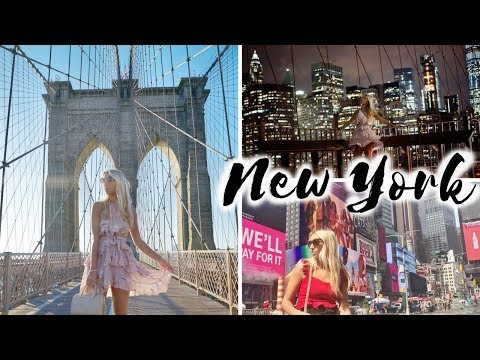 NEW YORK CITY VLOG AUTUMN 2017 | Scarlett London