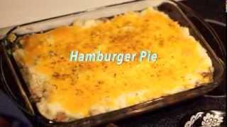 Cooking with Katie - Hamburger Pie