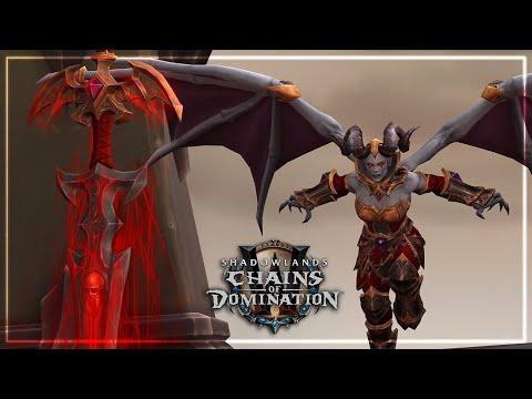 Mal'ganis, Where Dreadlords Dare Cutscene   Chains of Domination Patch 9.1