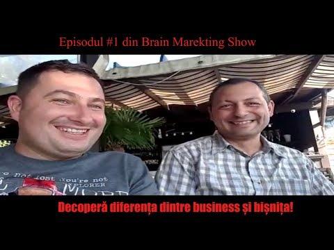 Descoperă diferența dintre Business și Bișniță | Brain Marketing Show - Ep. #1 -