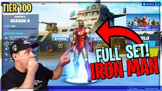 "KAKO DOBITI TIER 100 ""IRON MAN SET"" ZA 1 DAN KAO JA!? **TAJNA** FORTNITE SEZONA 4"