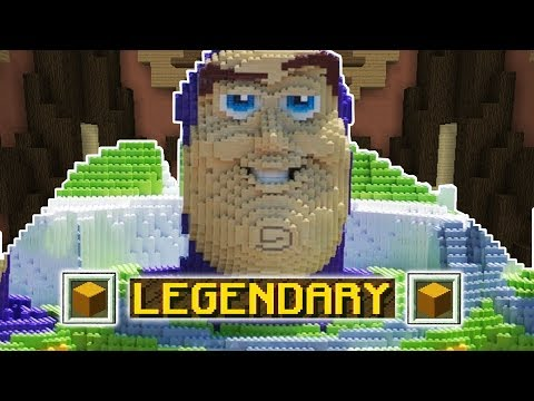 ONLY LEGENDARY!!! (Minecraft Build Battle)