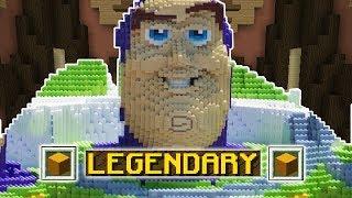 ONLY LEGENDARY!!! (Minecraft Build Battle)