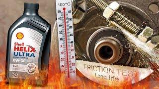 Shell Helix Ultra Professional AV-L 0W30 Jak skutecznie olej chroni silnik? 100°C