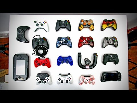 Ultimate Controller Collection (XBOX 360, PS3, Wii U, Custom Controllers & More)