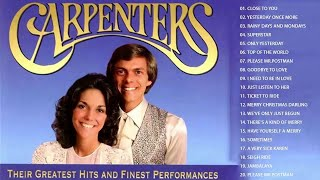 Carpenters Greatest Hits Collection (Full Album)   The Carpenter Songs   Best Songs of The Carpente