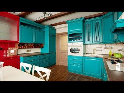 Кухни цвета МОРСКОЙ ВОЛНЫ   Интерьер кухни Более 40 Идей