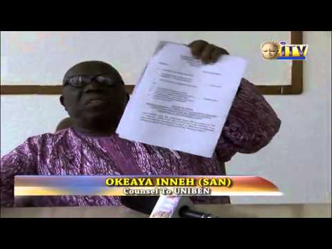 Counsel to UNIBEN presents more facts on demolished property