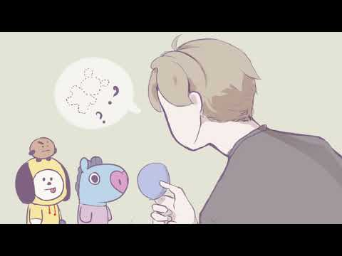 Where is Koya? BT21_FanAnimation  ||  Happy Birthday RM!