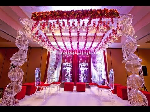 Mandap Decoration For Marriage Wedding Flower Decoration Mandap