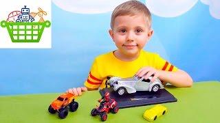 Машинки для детей Big Foot с квадроциклом и машинка хамелеон. Обзоры машинок с Даником