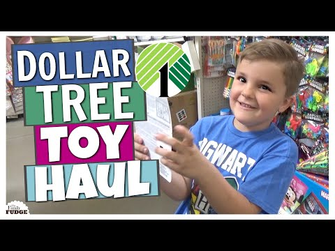 KIDS Dollar Tree TOY Shopping Challenge | GOOD or GARBAGE?