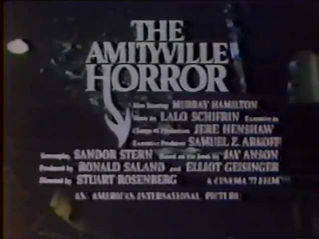 The Amityville Horror 1979 TV trailer #2