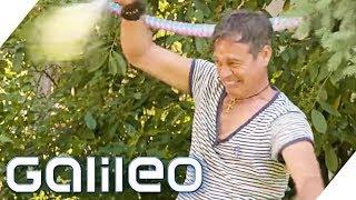 Die schnellste Gartenparty: Wer macht die schnelleren Party-Snacks? | Galileo | ProSieben