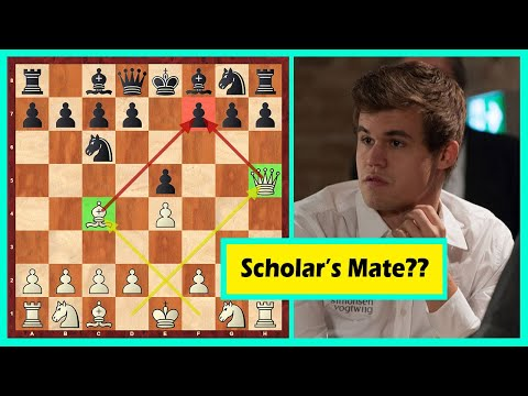 Hahaha! Carlsen's Opponent 'Decided' To Checkmate Him In 4