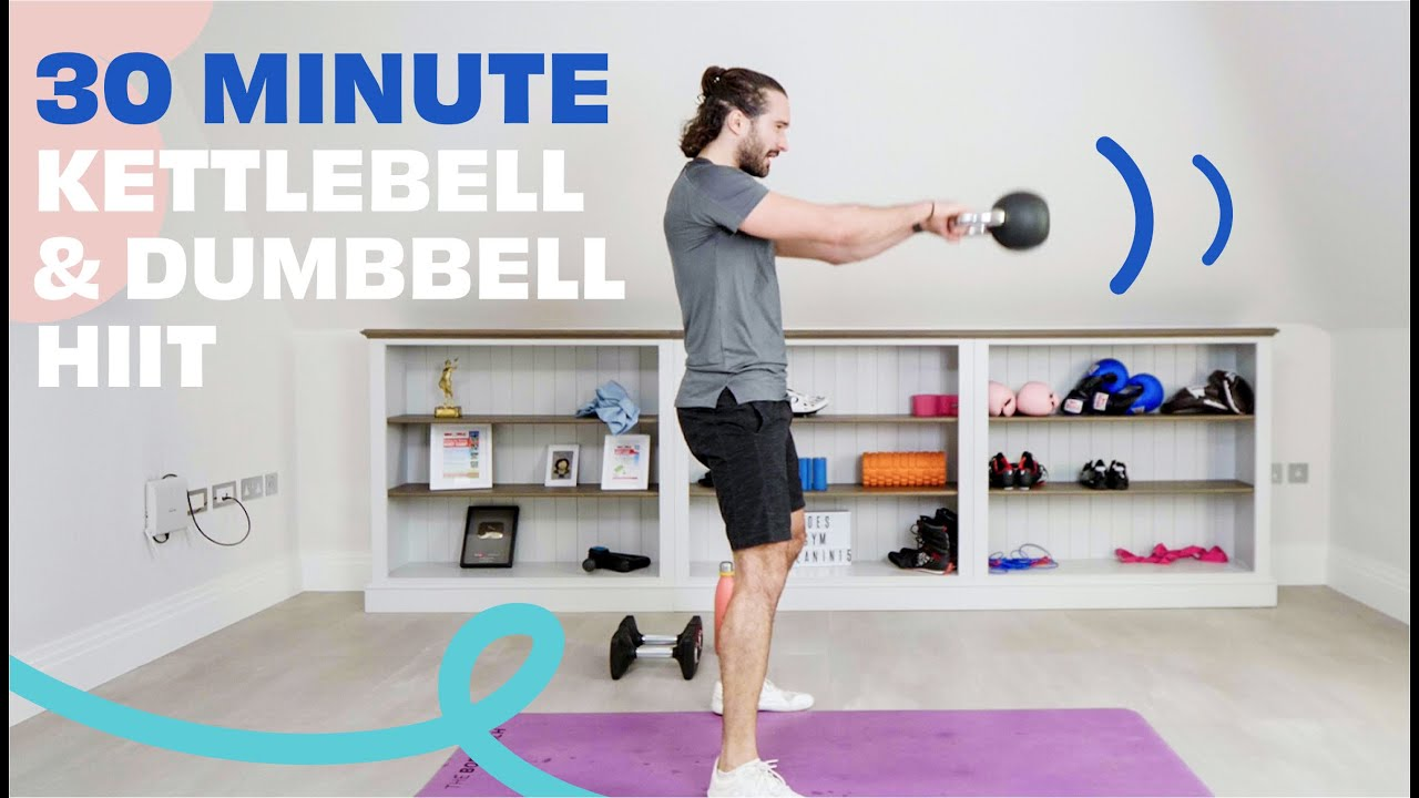 30 Minute Kettlebell & Dumbbell HIIT | The Body Coach TV