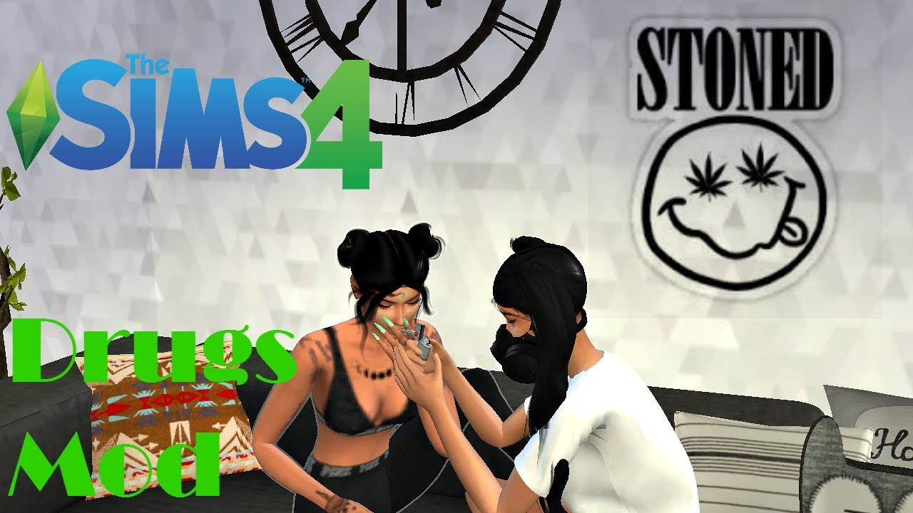 Sims 4 Drug Mod ? | Basemental CC Drug Overview// SMOKED OUT !