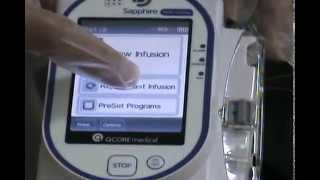 instructions for sapphire pump lesson 1 how to start and review the program