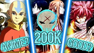 My Top 10 CONTROVERSIAL Anime Opinions - 200k Special (i lowkey regret this, lol)