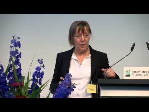 Medizin Innovativ - MedTech Pharma 2014, Vortrag Dr. Irene Maucher