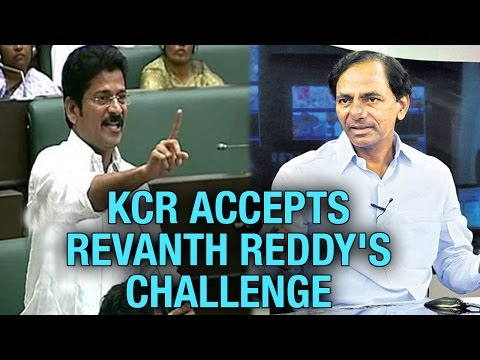 Telangana CM KCR Accepts Challenge From TDP MLA Revanth Reddy || T Assembly Sessions || V6 News