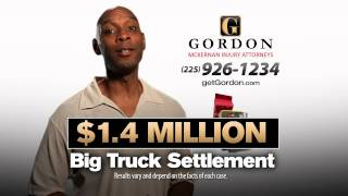 Herniated Disc Injury | Big Truck Wreck | Get Gordon McKernan Attorney
