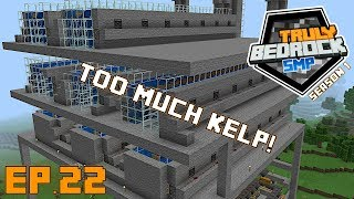 Minecraft: This kelp farm is just too fast!! Truly Bedrock S1 E22