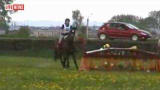Terrible!! Horse killed girl. Girl death under a horse