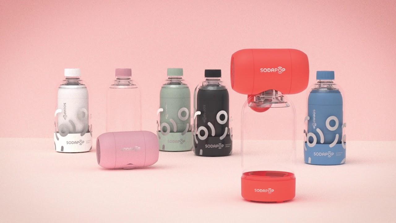 SodaPop Bluetooth Speaker (Orange) video thumbnail